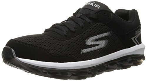 Skechers Men's Performance Go Air Walking Shoe, Black/White