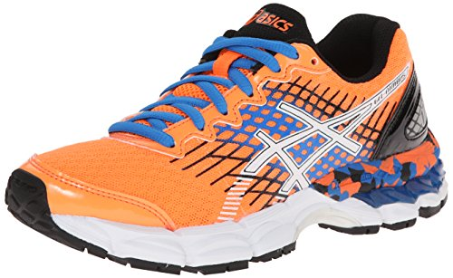 ASICS Youth Little Kids GEL Nimbus 17 GS Athletic Lace Up Running Shoes, 4 Colors