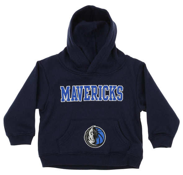 OuterStuff NBA Infant and Toddler's Dallas Mavericks  Fleece Hoodie, Navy