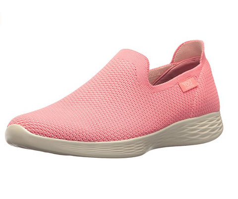 You By Skechers Women's Define Walking Sneaker, Pink