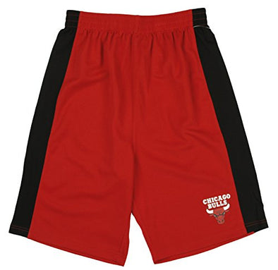 NBA Basketball Kids / Youth Chicago Bulls Shorts - Red / Black