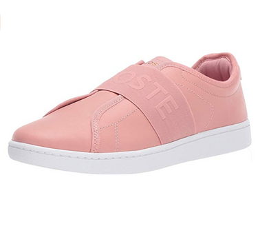 Lacoste Women's Carnaby Evo Slip 318 1 Fashion Sneaker, 2 Color Options