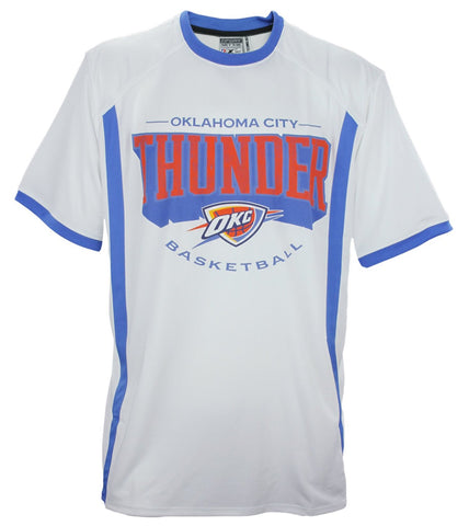 Zipway NBA Basketball Men's Big & Tall Oklahoma City Thunder Tee T-Shirt, White