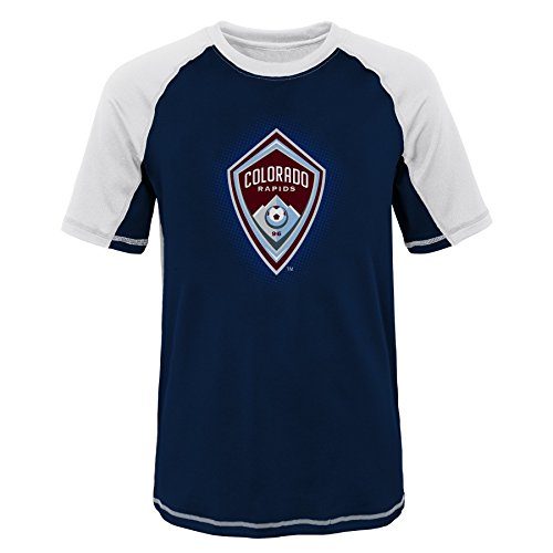 Outerstuff MLS Youth Boys (8-20) Philadelphia Union Short Sleeve Rash Guard