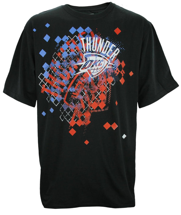 Zipway NBA Basketball Men's Big & Tall Oklahoma City Thunder Graphic T-Shirt, Black