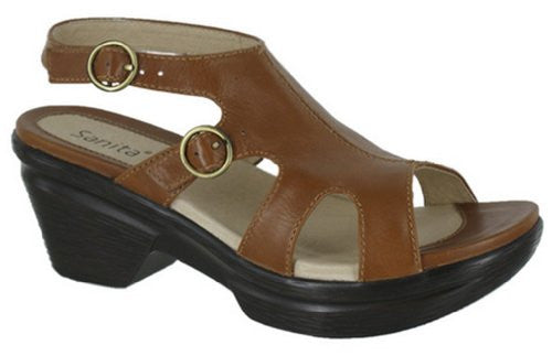 Sanita Women's Sweetwater Mule Fashion Buckle Platform Sandals Shoes - 2 Colors