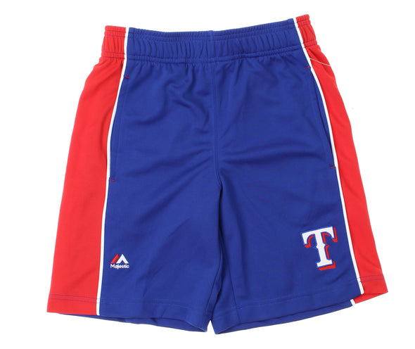Outerstuff MLB Youth Texas Rangers Baseball Classic Shorts, Blue