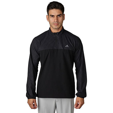 Adidas Men's Performance Stretch 1/2 Zip Wind Jacket, Color Options