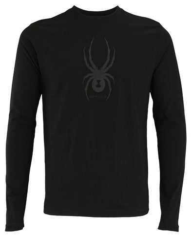 Spyder Men's Long Sleeve Graphic Tee, Color Options