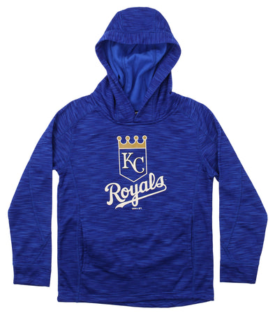 Gen 2 MLB Youth Kansas City Royals Performance Fleece Primary Logo Hoodie
