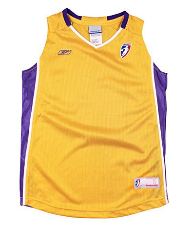 Reebok WNBA Youth Girls Los Angeles Sparks Blank Basketball Jersey - Gold