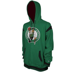 Zipway NBA Basketball Big & Tall Boston Celtics Full Zip Hoodie Sweatshirt