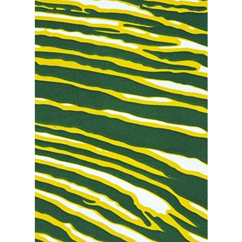 Zubaz NFL Women's Green Bay Packers Team Color Tiger Print Leggings Pants