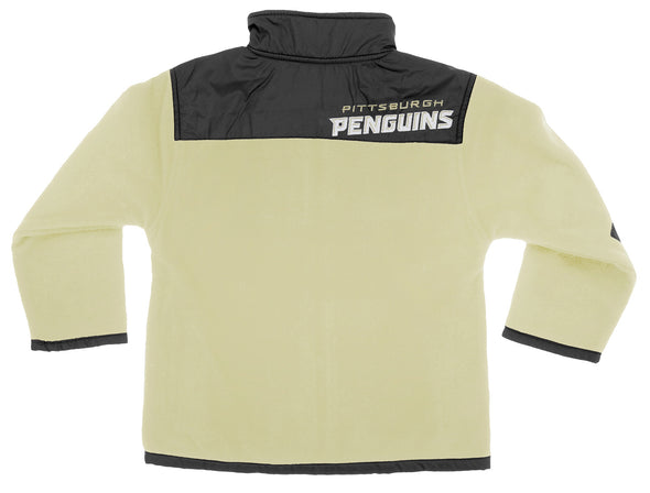NHL Youth/Kids Pittsburgh Penguins Danali Fleece Jacket, Black