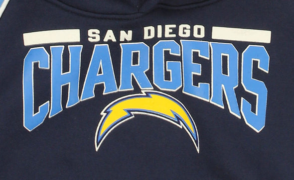 NFL Toddlers San Diego Chargers Performance Pullover Fleece Hoodie