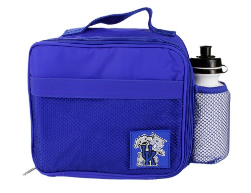 Kentucky Wildcats NCAA Kids Insulated Lunch Bag with Reusable Water Bottle, Blue