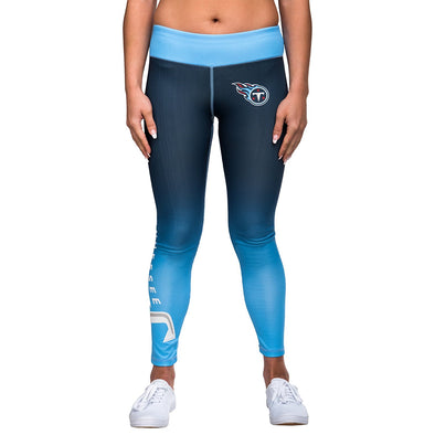 Forever Collectibles NFL Tennessee Titans Redskins Gradient 2.0 Wordmark Legging