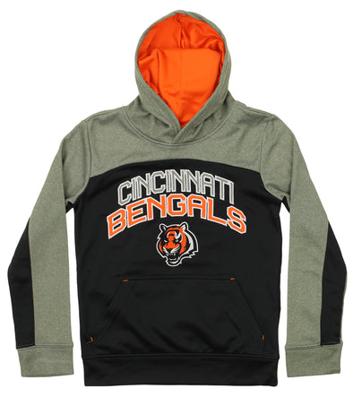 Outerstuff NFL Youth Cincinnati Bengals Ellipse Pullover Sweatshirt Hoodie