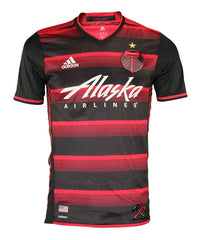 sports shoes 50b3f 61ee9 Adidas MLS Men's Portland Timbers Authentic Jersey