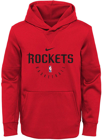 Nike NBA Basketball Youth Houston Rockets Spotlight Pullover Hoodie