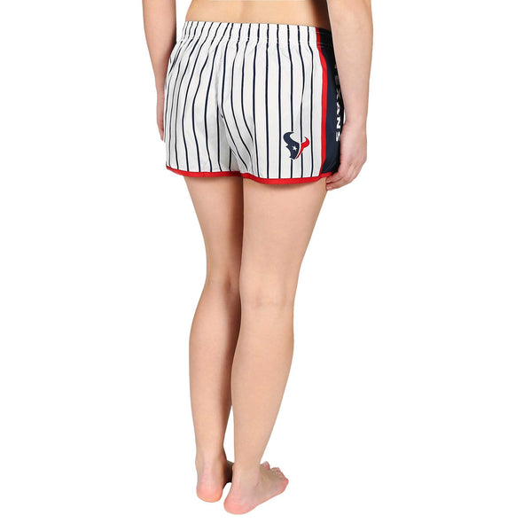 Forever Collectibles NFL Women's Houston Texans Pinstripe Shorts