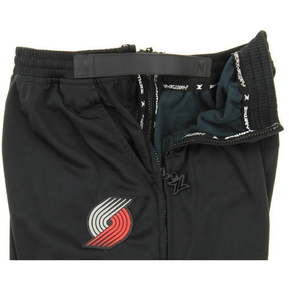 Zipway NBA Men's Portland Trail Blazers Pixel Tricot Tear-Away Pants, Black