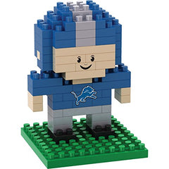 NFL Detroit Lions Mini BRXLZ Player Building Blocks