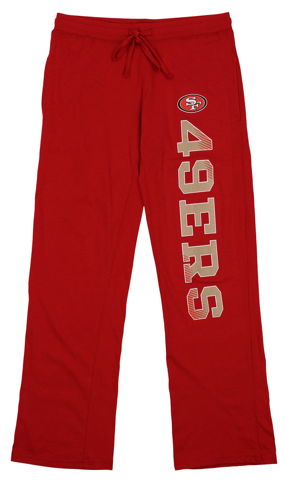 Concepts Sport NFL Women's San Francisco 49ers Knit Pants