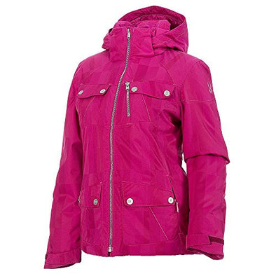 Spyder Evar Jacket - Women's Wild Anti Plaid, 6
