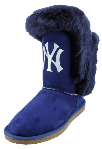 Cuce Shoes MLB Women's New York Yankees The Champions Boots - Blue