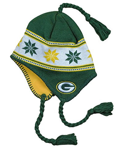 Green Bay Packers NFL Big Boys 8-20 Tassel Knit Winter Hat, Green [Misc.]