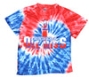 NCAA Youth Mississippi Ole Miss Rebels Retro Tie Dye Swirl Tee, Blue