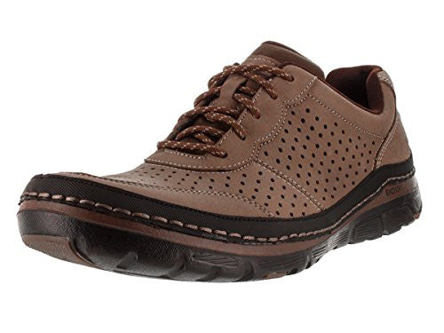 Rockport Men's Activflex Sport Perf Mudguard Walking Lace Up Oxford Shoes, 2 Colors