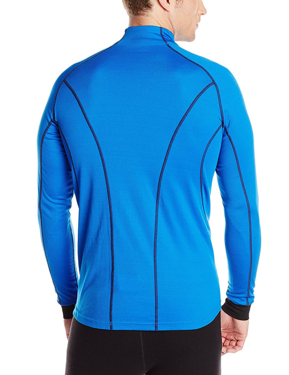 Helly Hansen Men's Dry Charger 1/2 Zip Base Layer Shirt, Cobalt Blue