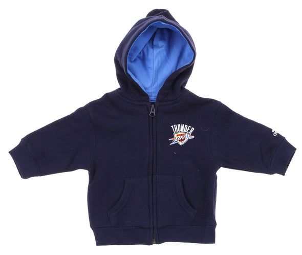 Adidas NBA Infants Oklahoma City Thunder Prime Full Zip Fleece Hoodie