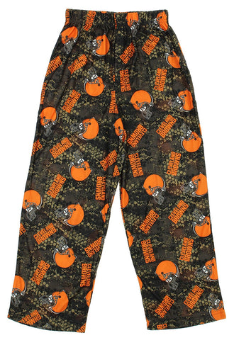 "NFL Youth Cleveland Browns ""Team Colorway"" All Over Printed Pants"