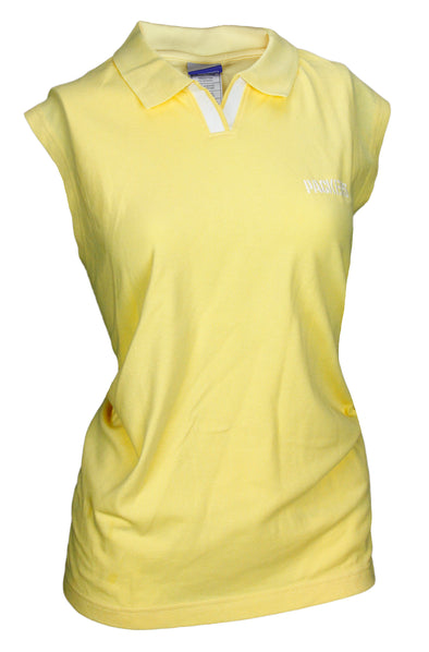 Reebok Women's NFL Green Bay Packers Sleeveless Polo Shirt, Yellow