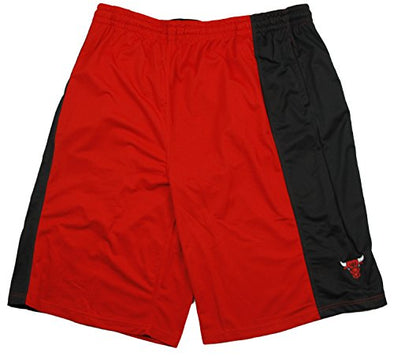 Zipway NBA Basketball Big & Tall Men's Chicago Bulls Athletic Shorts