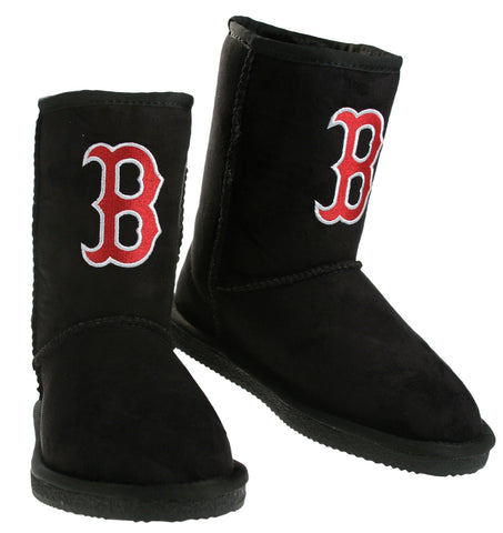 Cuce Shoes MLB Women's Boston Red Sox The Ultimate Fan Boots Boot - Black