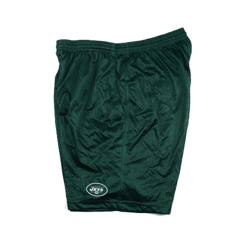 Reebok NFL Men's New York Jets Coaches Practice Shorts, Green