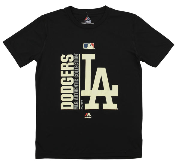 Majestic MLB Youth Los Angeles Dodgers Short Sleeve AC Team Icon Tee