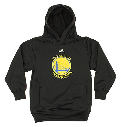 Adidas NBA Youth Boys Golden State Warriors Logo Pullover Sweatshirt Hoodie