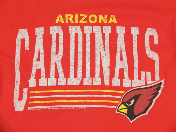 Arizona Cardinals NFL Football Men's Fundamentals Logo T-Shirt Tee Top, Red