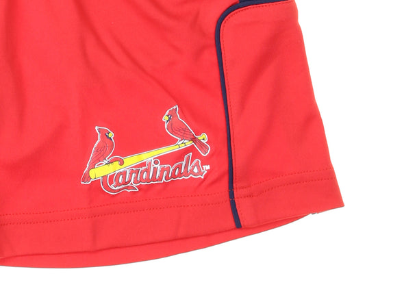 Outerstuff MLB Kids St. Louis Cardinals Batters Choice Shorts, Red