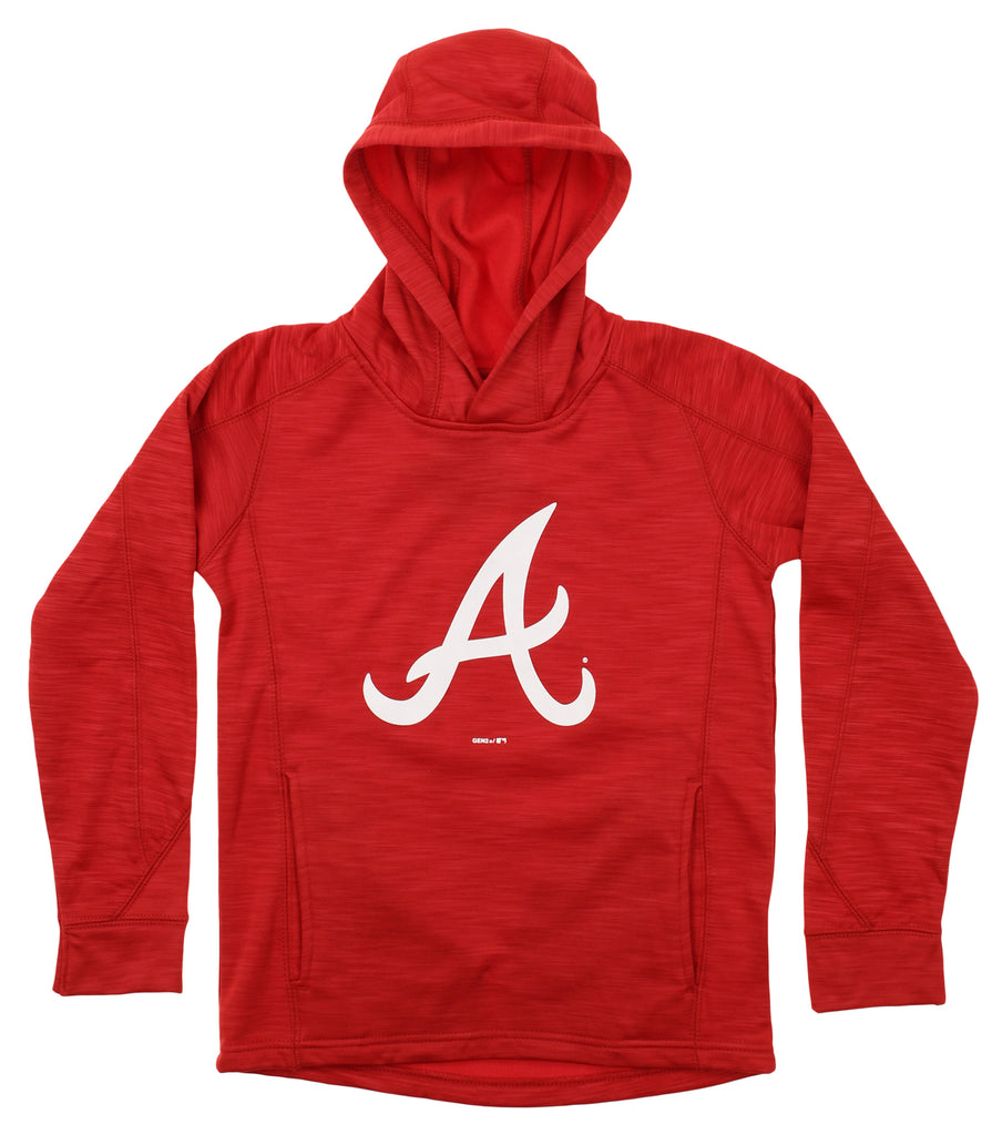 reputable site 952e4 bcc29 Gen 2 MLB Youth Atlanta Braves Performance Fleece Primary Logo Hoodie