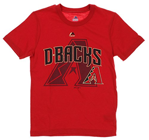 Outerstuff MLB Youth Arizona Diamondbacks Real Gem Short Sleeve Tee, Red