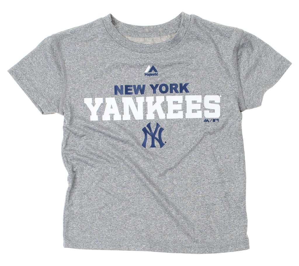 f2c8fc67a Majestic MLB Kids New York Yankees Roll Call Performance Tee Shirt ...