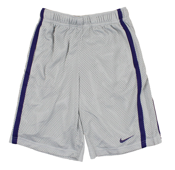 Nike NCAA Youth Kansas State Wildcats Team DriFIT Athletic Shorts, Grey