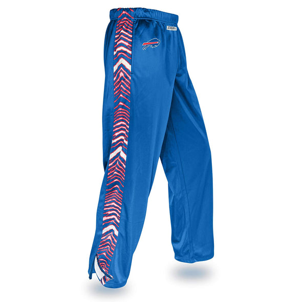 Zubaz NFL Men's Buffalo Bills Zebra Accent NFL Stadium Pants