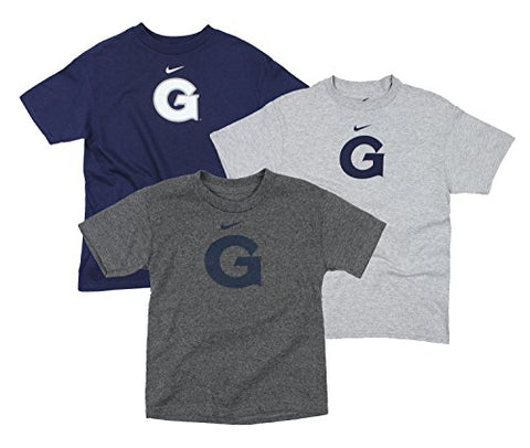 Nike NCAA Youth Boys Georgetown Hoyas Premier Logo Tee Top Shirt